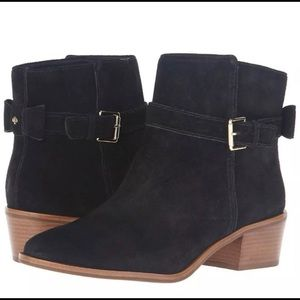 NEW KATE SPADE Suede Taley Boots with Bows Size 9